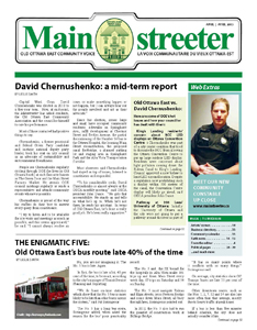 The Mainstreeter - April 2013 issue