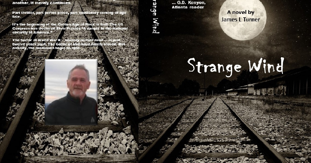 Ottawa author Jame Turner has recently published his first novel. Strange Wind, which is set in Old Ottawa East.