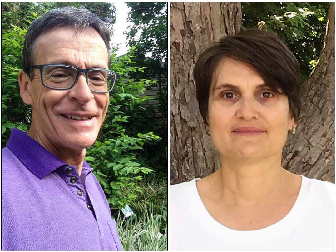 The National Healing Forest Project is the brainchild of OOE resident Peter Croal (L) and Patricia Stirbys. Old Ottawa East is an ideal location for a Healing Forest, according to Croal. Photos Supplied