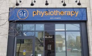 Joseph Federico's new physiotherapy clinic in Corners on Main is expected to be a perfect fit for a community full of physically active residents. Photo Supplied