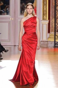 On the runway at a Paris Haute Couture fashion show. Supplied Photo