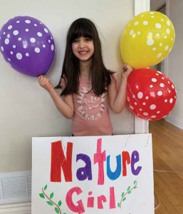 Balloons are a major marketing tool for Gianna's Nature Girl Artisanal Bread company. Supplied Photo