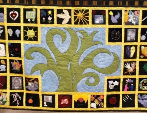 Now available with online stories from crime victims, offenders and family members, the quilt was designed to bring people together to empathize with the suffering, hope and courage embodied in each of the quilt's 40 blocks. Supplied Photo