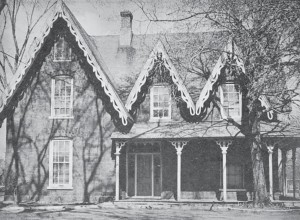 The home of Robert Lees was built in the 1860s and was named Wildwood since it was located in the wild woods outside the city limits of Ottawa. Supplied Photo