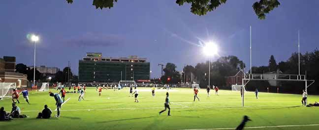 Ottawa Footy Sevens will now have to pay property taxes on Immaculata Field. Photo by Alexandra Gruca-Macaulay.