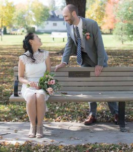 It was not the wedding they had originally planned; but it was better! Photo By Mashaell Photography